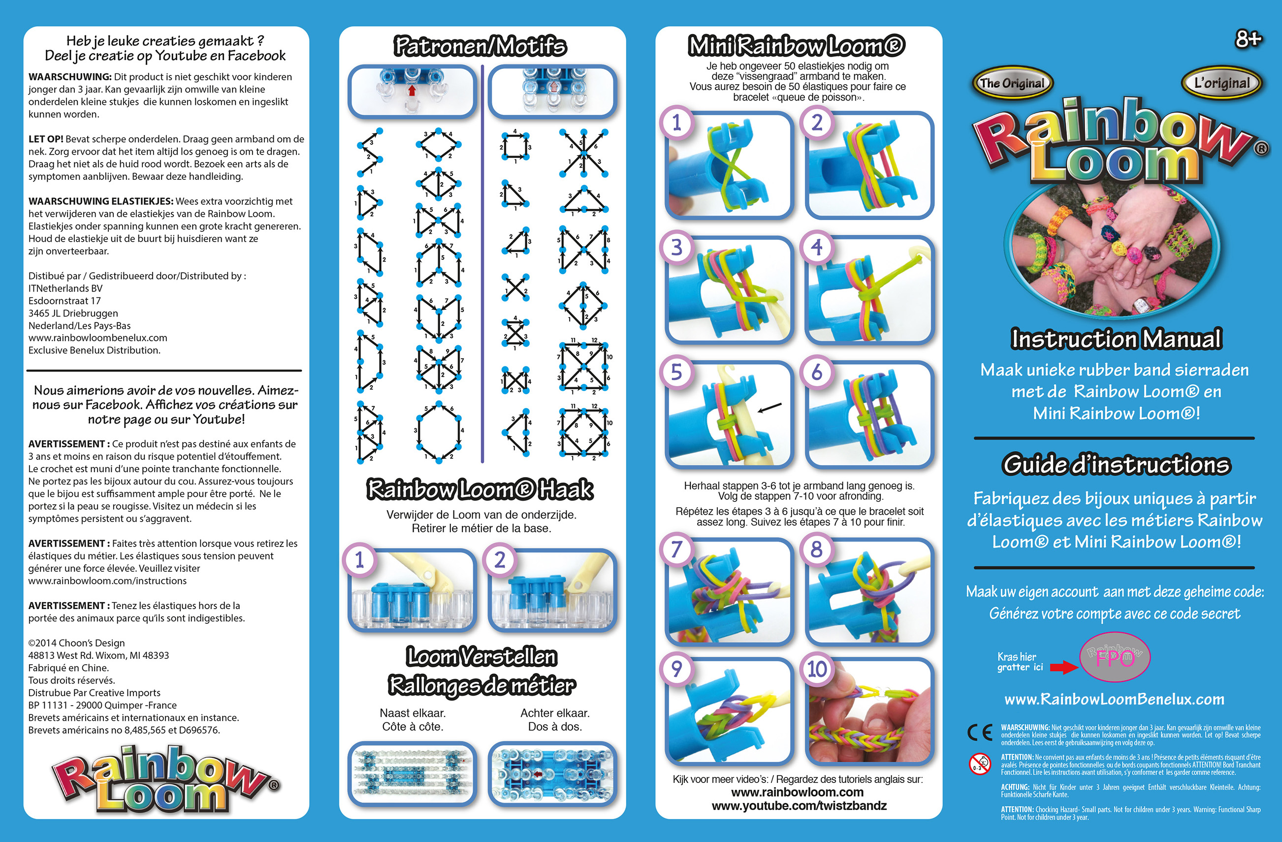 rainbow loom europe rh rainbowloomeurope com Dragonscale Rainbow Loom Bracelet Rainbow Loom Instruction Manual